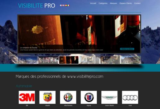 Visibilité Pro marque professionnels